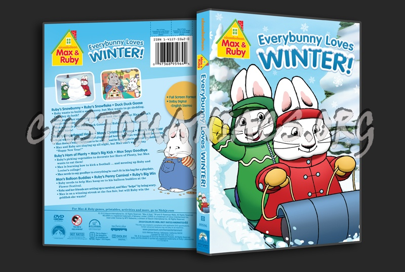 Max Amp Ruby Everybunny Loves Winter Dvd Cover Dvd Covers