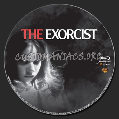 The Exorcist blu-ray label