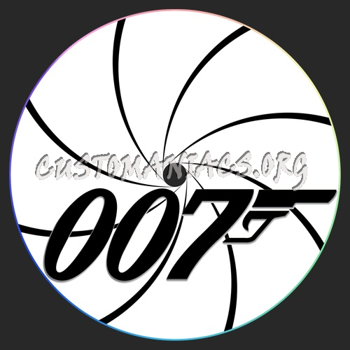 007 Gun Barrell Label dvd label