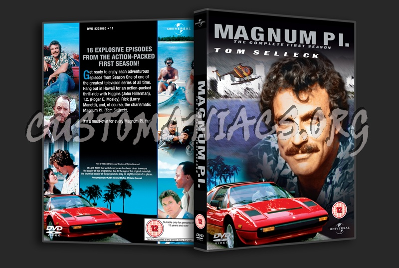 Magnum P.I. Season 3 dvd cover