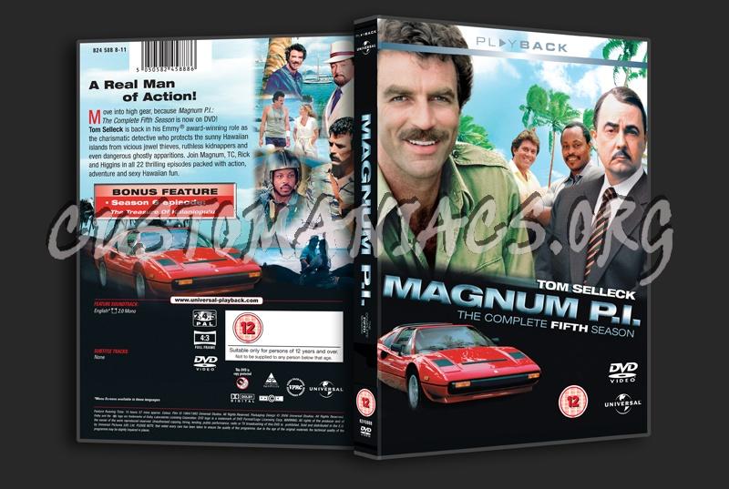 Magnum P.I. Season 5 dvd cover