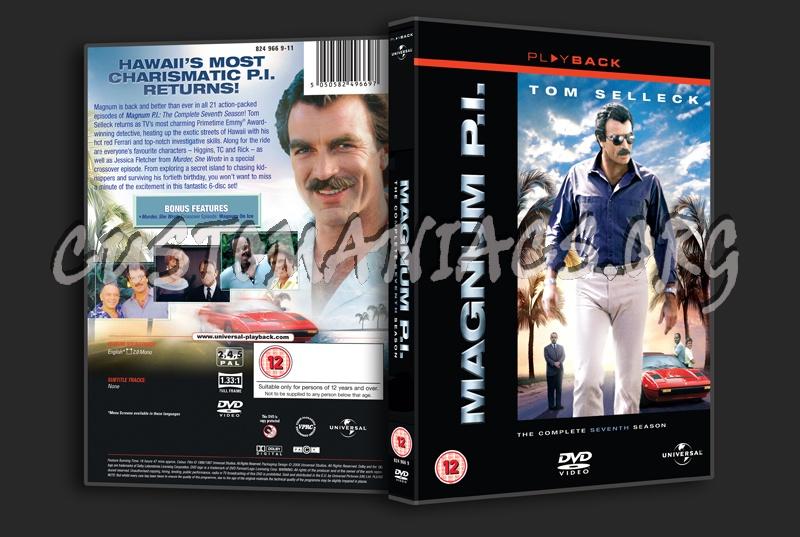 Magnum P.I. Season 7 dvd cover