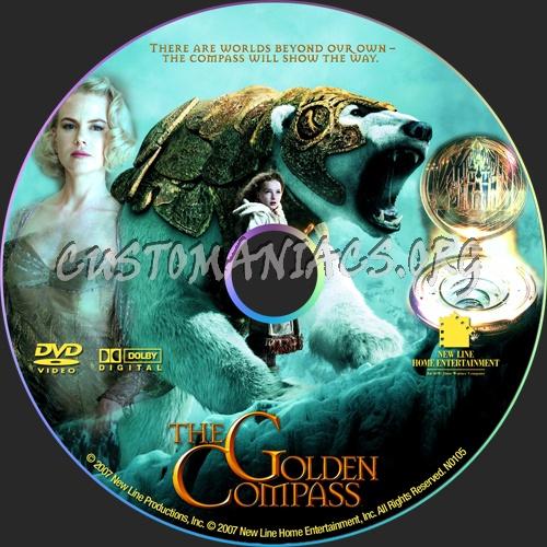 The Golden Compass dvd label