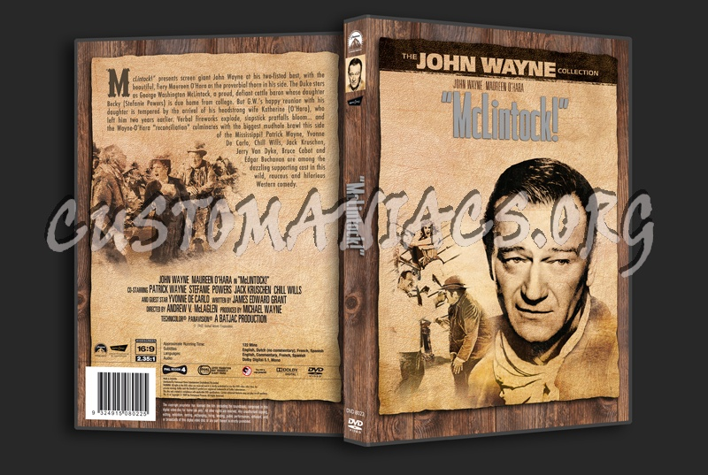 McLintock! dvd cover