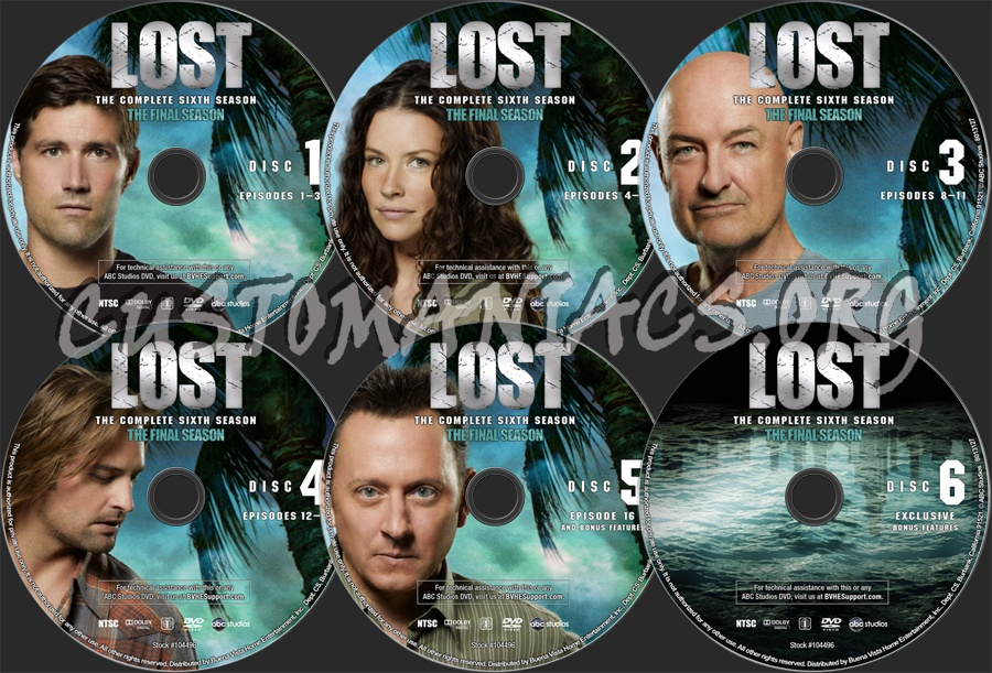 Lost - The Final Season dvd label - DVD Covers & Labels by