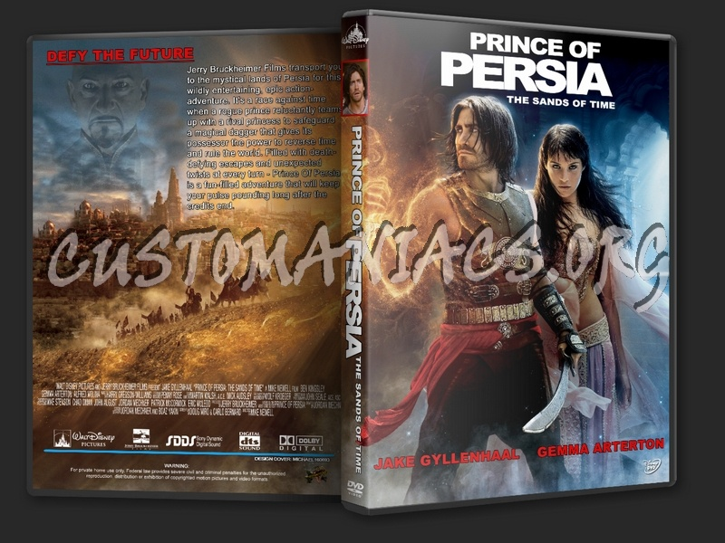 Prince Of Persia The Sands Of Time Dvd Cover Dvd Covers Labels By Customaniacs Id 120016 Free Download Highres Dvd Cover
