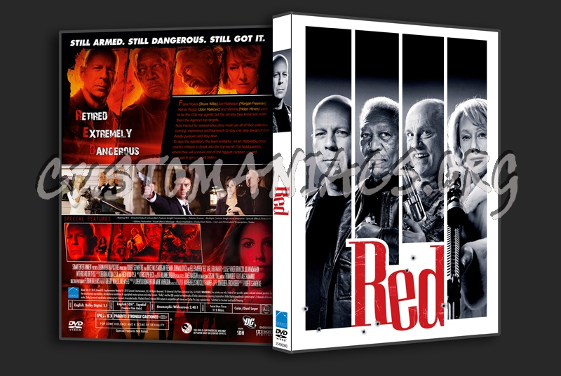Red dvd cover