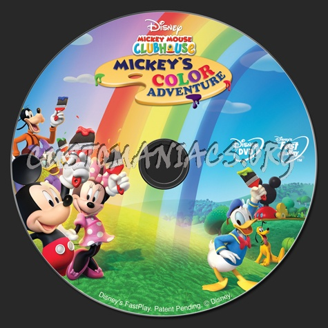 Mickey Mouse Clubhouse Mickey S Color Adventure 2007 Slowed