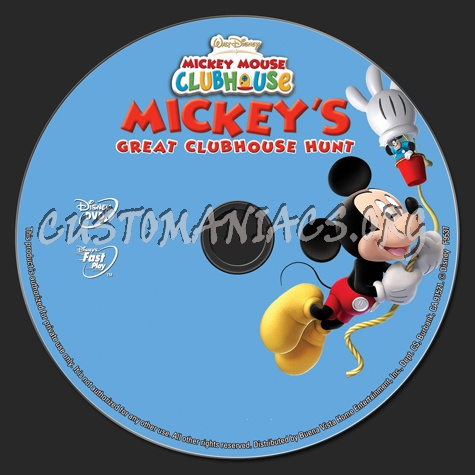 Mickey Mouse Clubhouse: Mickey's Great Clubhouse Hunt dvd ...