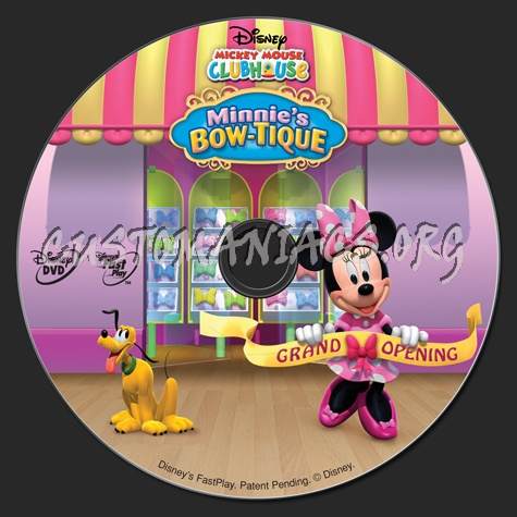 Mickey Mouse Clubhouse Minnie's Bow Tique