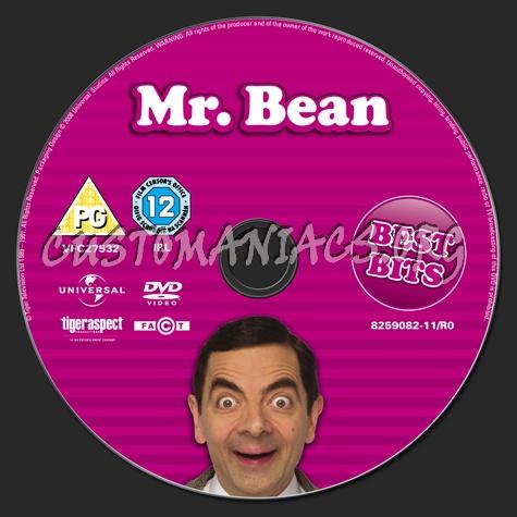 Mr. Bean Best Bits dvd label