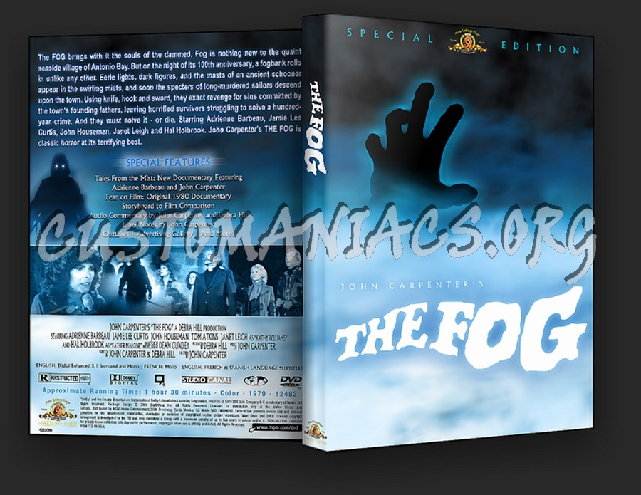 John Carpenter's The Fog dvd cover