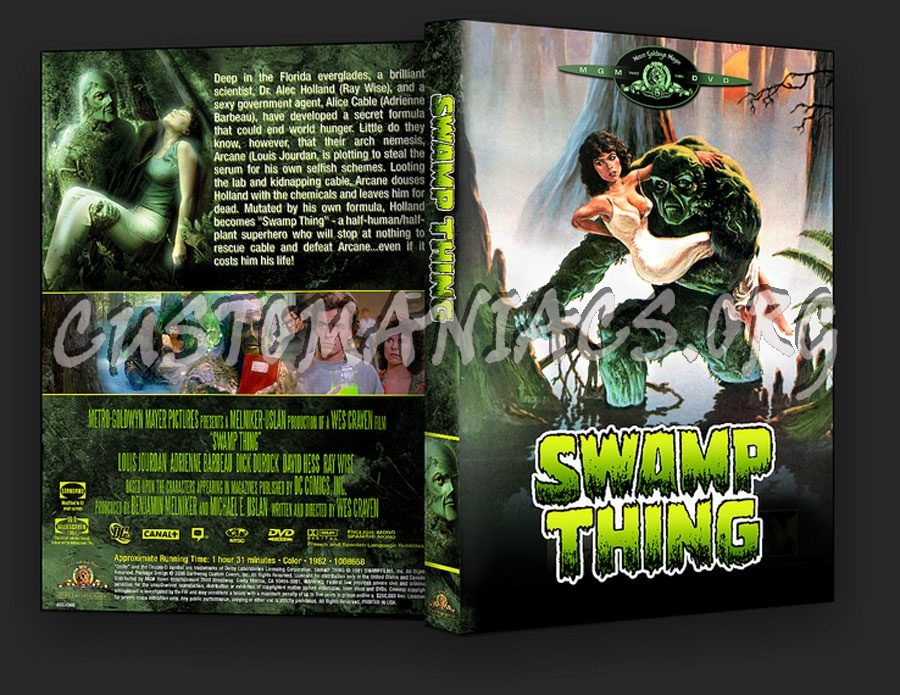 Swamp Thing dvd cover