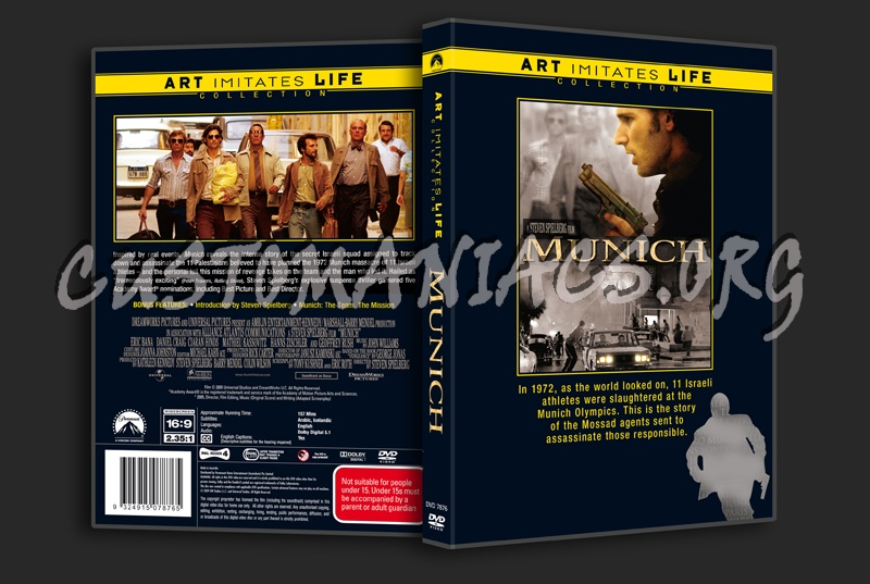 Munich dvd cover