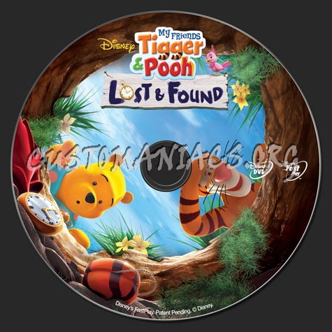 My friend tigger pooh lost found dvd label dvd covers my friend tigger pooh lost found dvd label thecheapjerseys Images