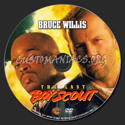 The Last Boy Scout dvd label
