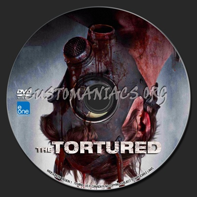The Tortured dvd label