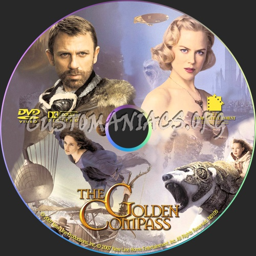 The Golden Compass dvd label