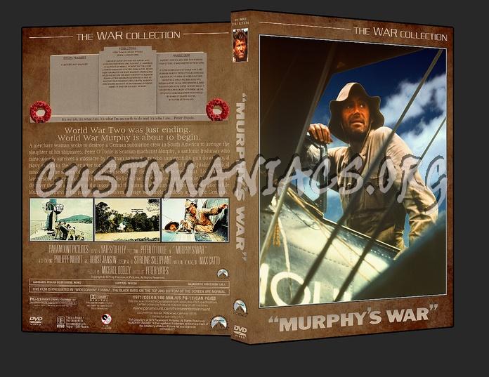War Collection Murphy's War dvd cover