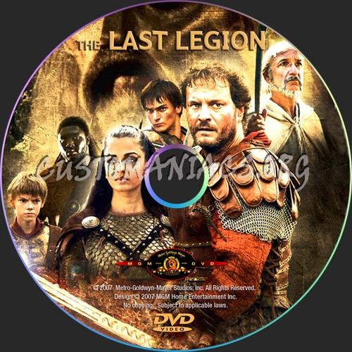 The Last Legion dvd label