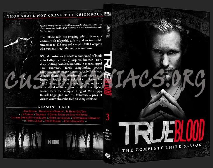 true blood season 3 dvd cover. True Blood - Season 3 dvd