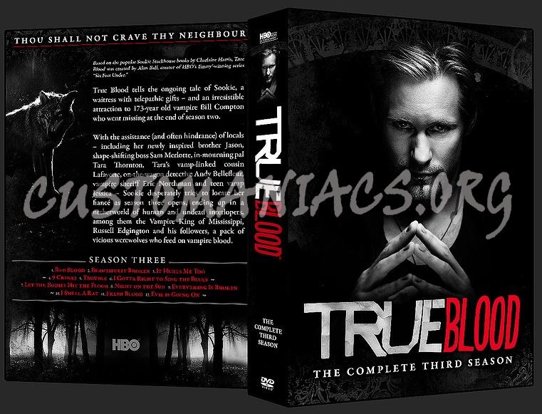 true blood season 3 cover. True Blood - Season 3 dvd