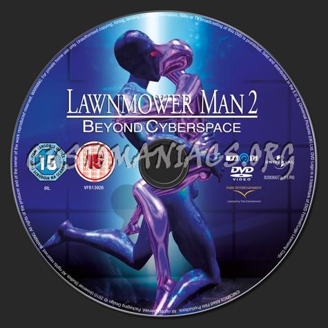 Lawnmower Man 2 dvd label