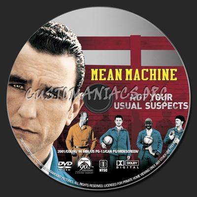 Mean Machines Mean Machine Dvd Label