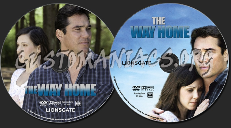The Way Home dvd label