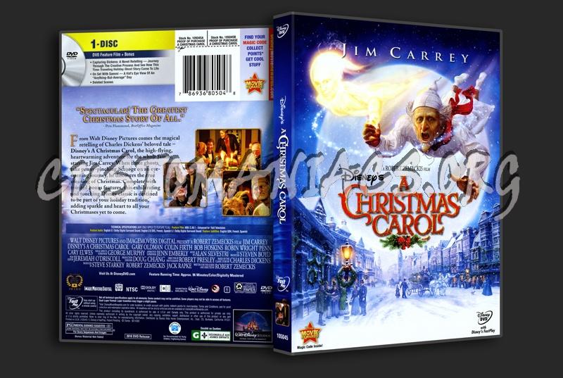 A Christmas Carol dvd cover