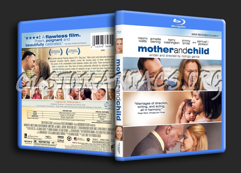 Mother and Child blu-ray cover