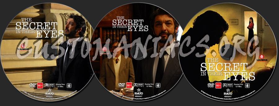 The Secret In Their Eyes dvd label