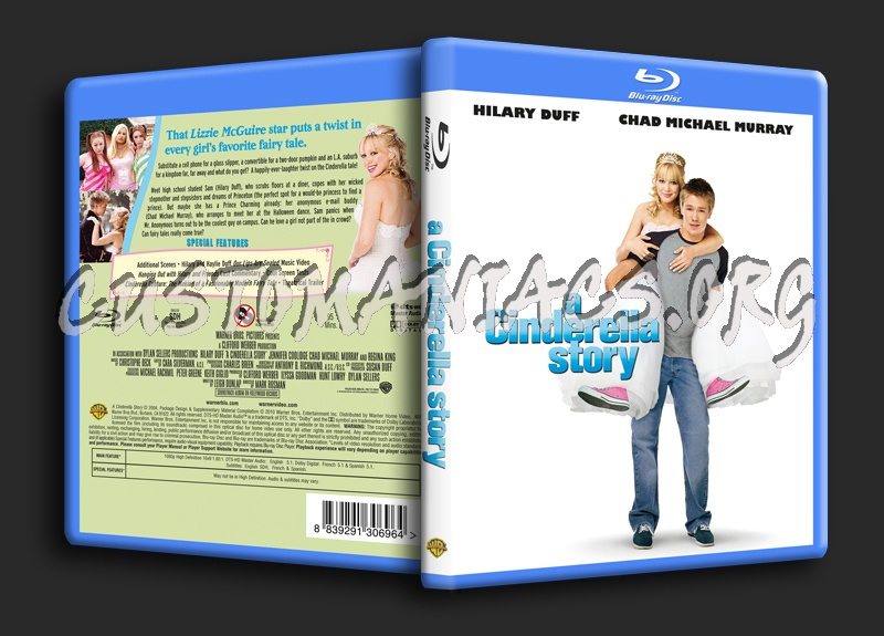 A Cinderella Story blu-ray cover - DVD Covers & Labels by