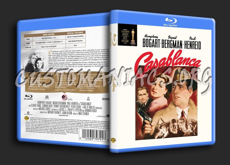 Casablanca blu-ray cover