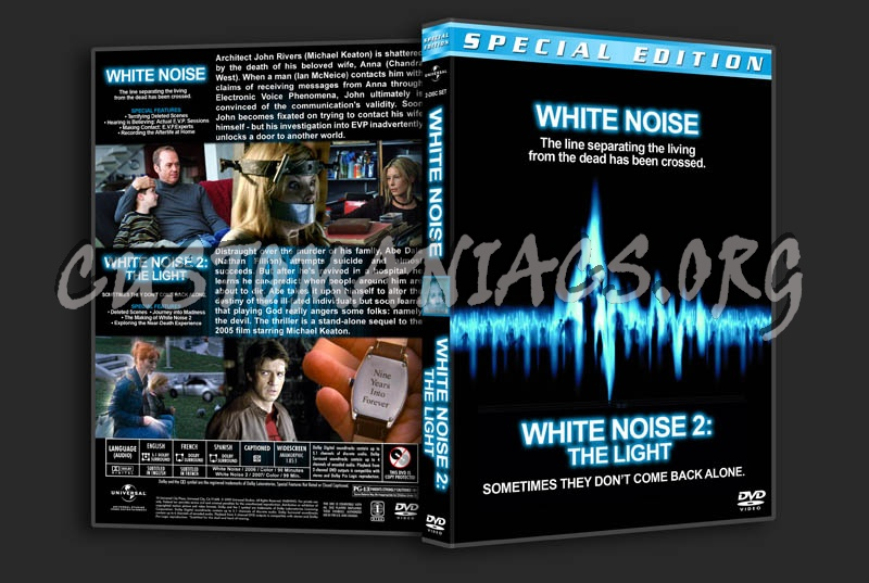 White Noise / White Noise 2 Double Feature dvd cover