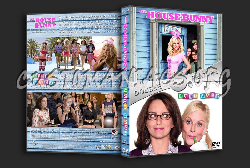 The House Bunny / Baby Mama Double Feature dvd cover