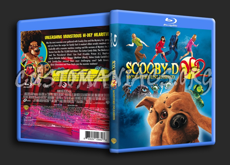 Scooby Doo 2 Monsters Unleashed Blu Ray Cover Dvd Covers Labels By Customaniacs Id 121665 Free Download Highres Blu Ray Cover