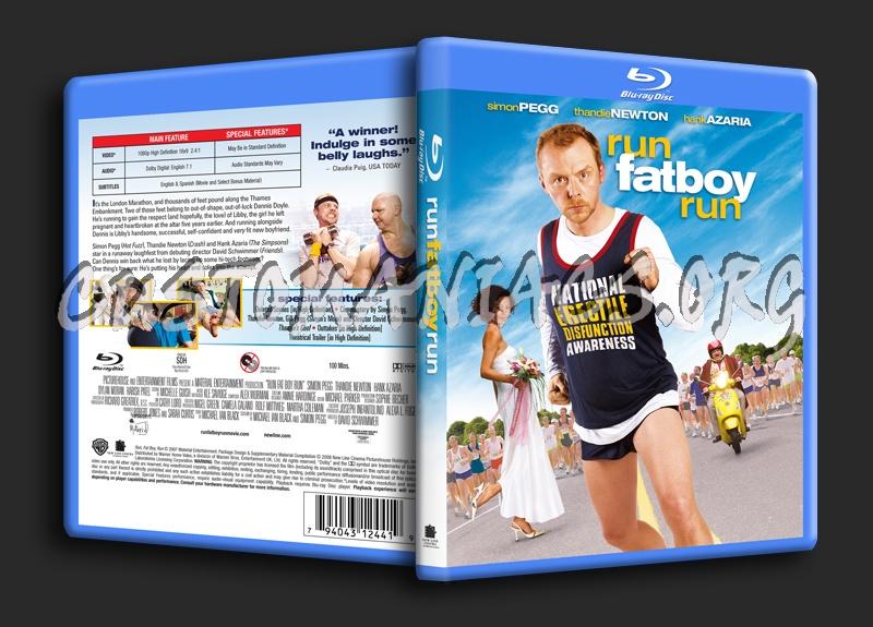 Run Fatboy Run blu-ray cover
