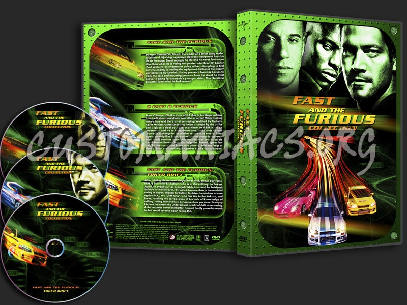 The Fast And The Furious Collection dvd cover