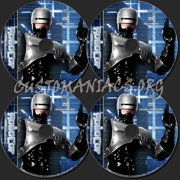 RoboCop - Prime Directives - TV Collection dvd label