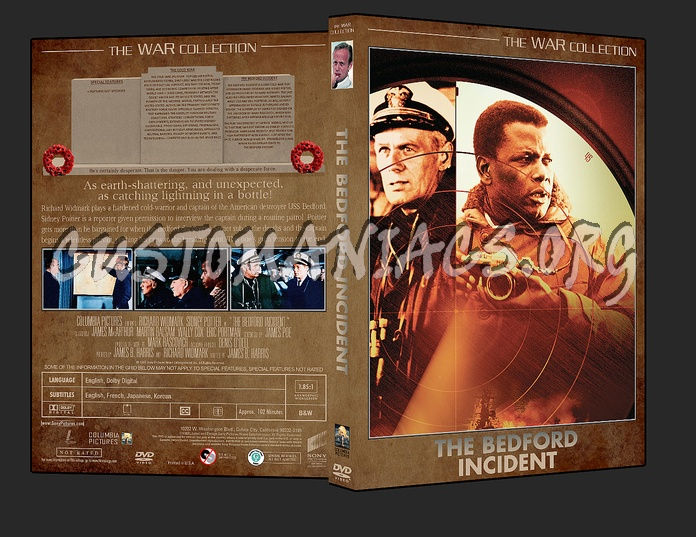 War Collection The Bedford Incident dvd cover