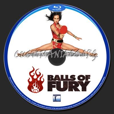 Balls of Fury blu-ray label