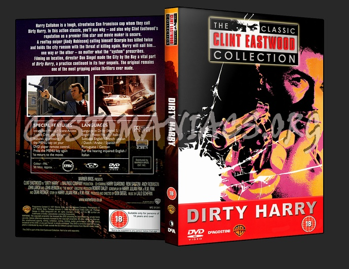 Dirty Harry dvd cover