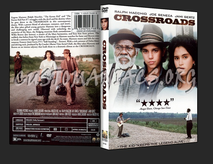 Crossroads dvd cover