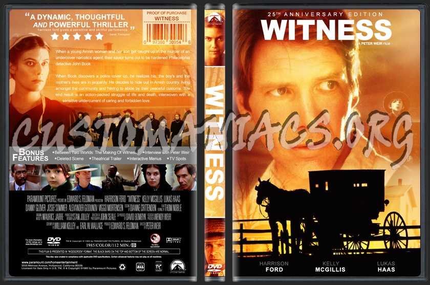 Witness dvd cover