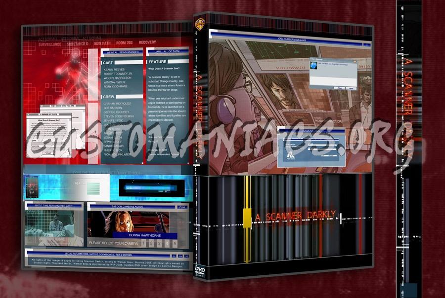 A Scanner Darkly dvd cover