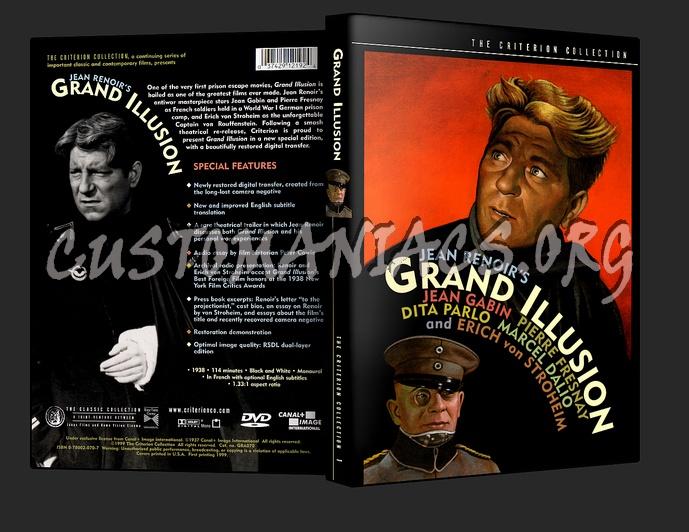 001 - Grand Illusion dvd cover