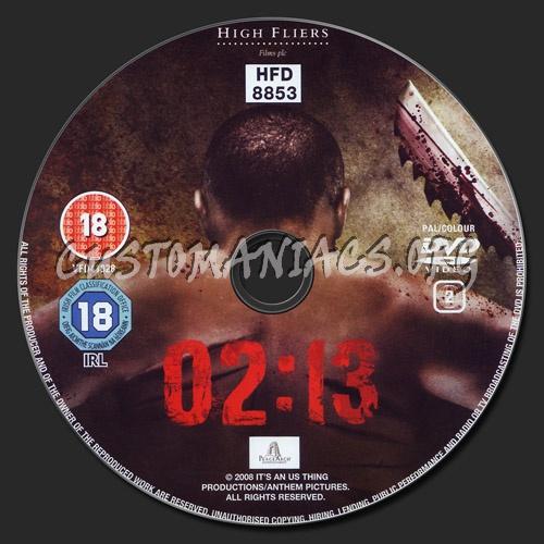 02:13 Two Thirteen dvd label