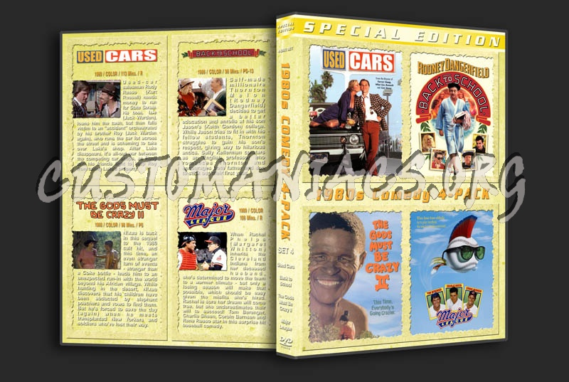 1980s Comedy Collection - Set 4 dvd cover