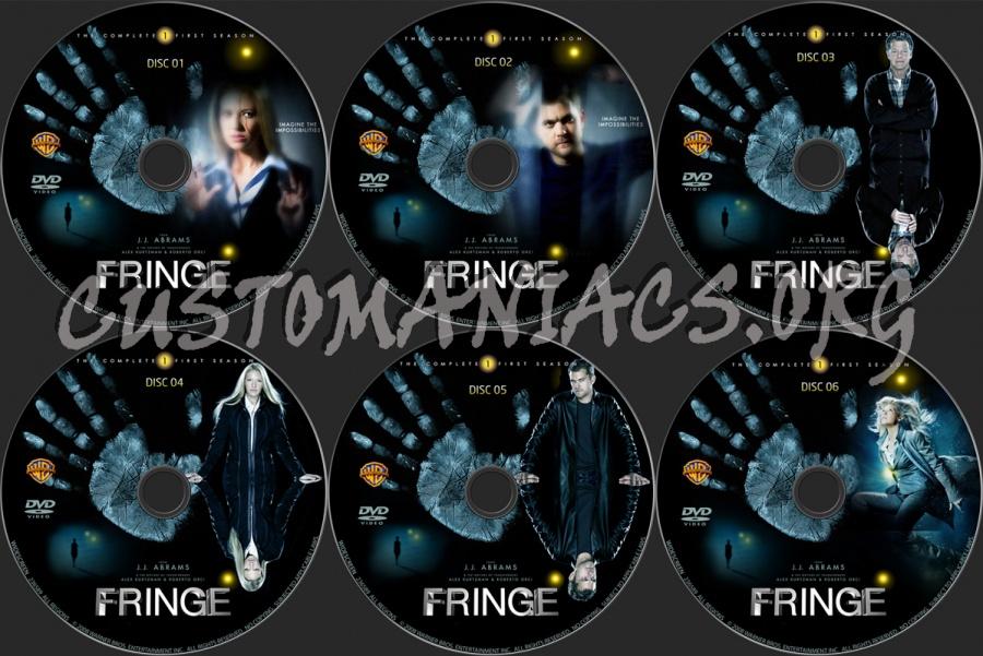 Fringe - Season 1 dvd label